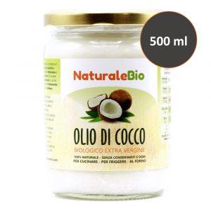 Olio di Cocco Biologico - 500ml - NaturaleBio