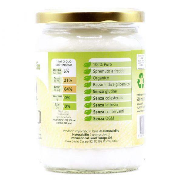 Olio di Cocco - 500ml - Composizione