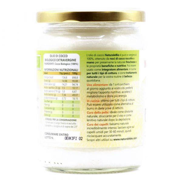 Olio di Cocco - 500ml - Utilizzi