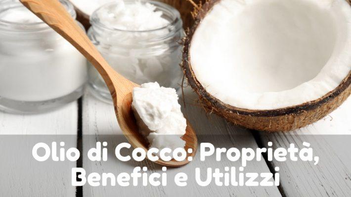 olio di cocco proprietà