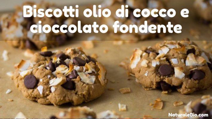 Biscotti con olio di cocco