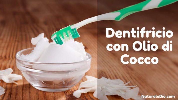 Dentifricio con olio di cocco