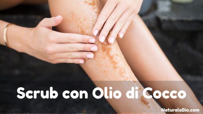 scrub con olio di cocco