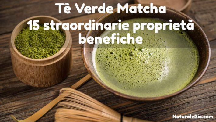 benefici del tè matcha