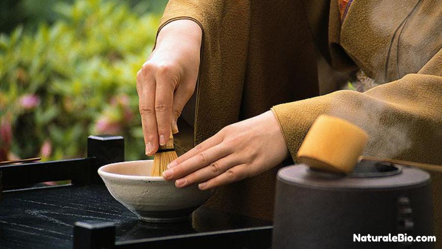 cha-no-yu preparazione tè matcha