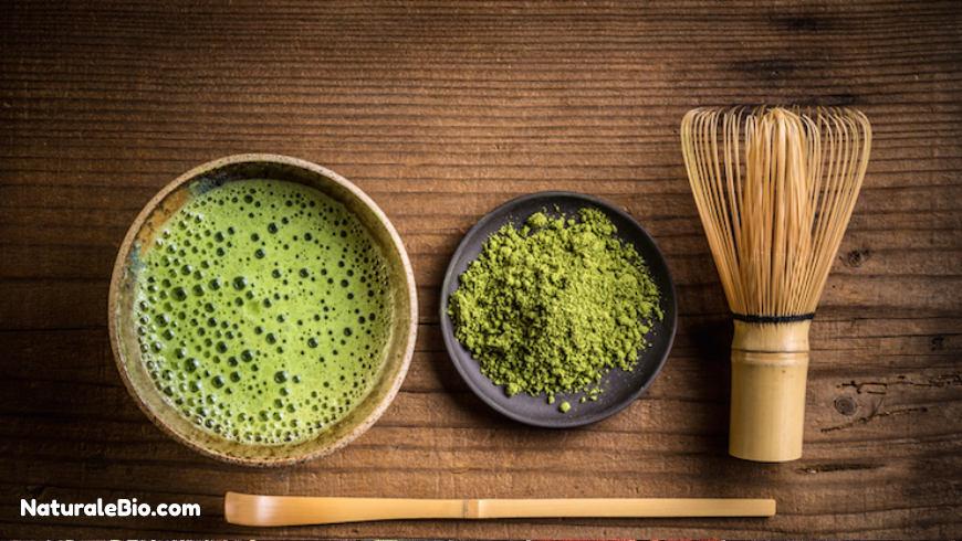 tè matcha in polvere cerimoniale