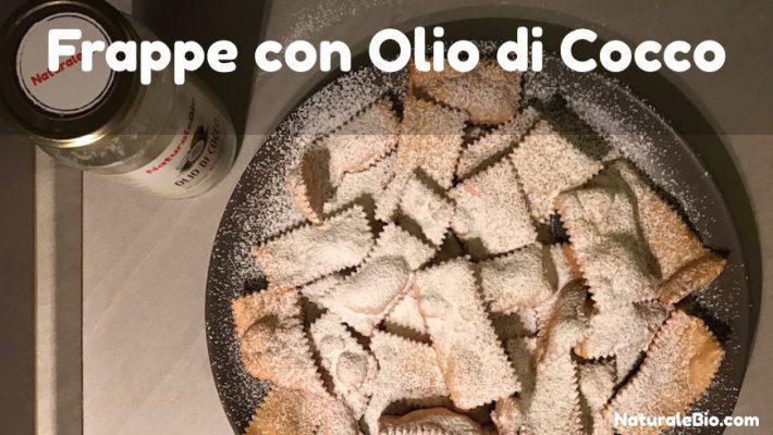 frappe con olio di cocco
