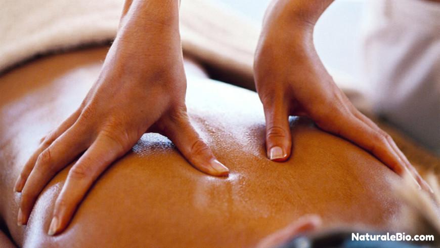olio di cocco massaggio