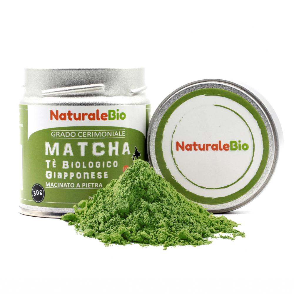matcha te verde in polvere naturalebio