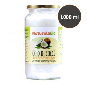 Olio di Cocco Biologico - 1000ml - NaturaleBio