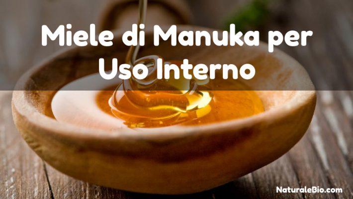 Miele di Manuka per uso Interno