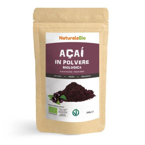 Açai biologico in polvere - NaturaleBio