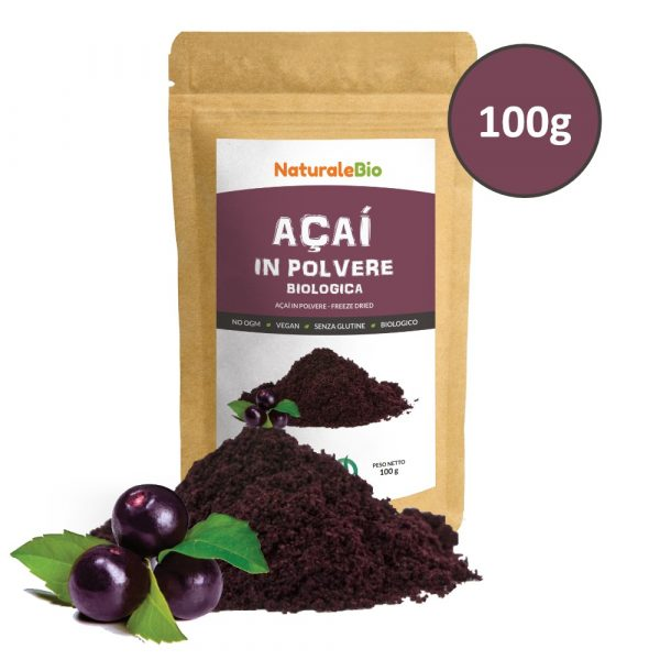 Açai Biologico in Polvere - Freeze Dried - 100g