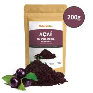 Açai Biologico in Polvere - Freeze Dried - 200g