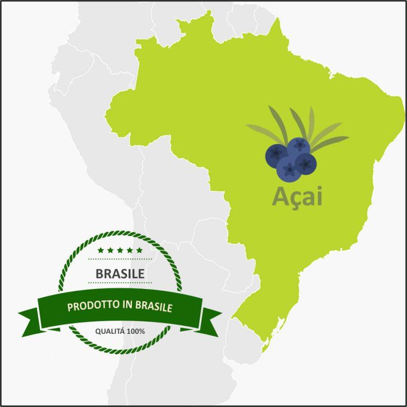 Acai Biologico prodotto in Brasile