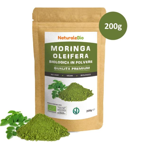 Moringa in polvere - 200g - IT