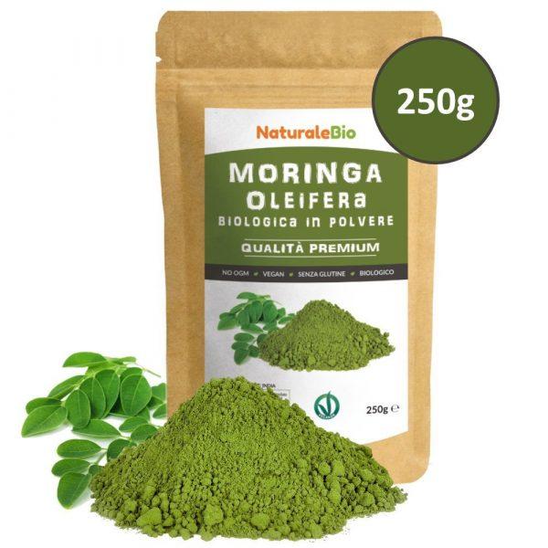 Moringa Oleifera in Polvere - 250g - NaturaleBio