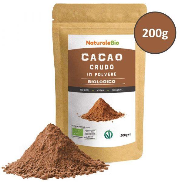 Cacao crudo in polvere - NaturaleBio