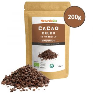 Cacao crudo in granella - NaturaleBio