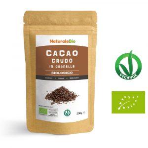 Cacao crudo in granella biologico