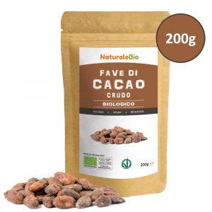Fave di cacao crudo biologico - NaturaleBio