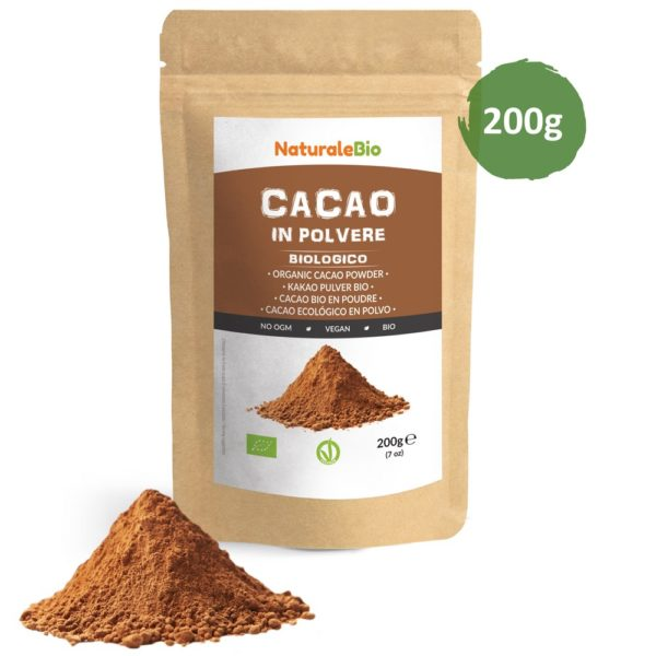 Cacao Biologico in Polvere