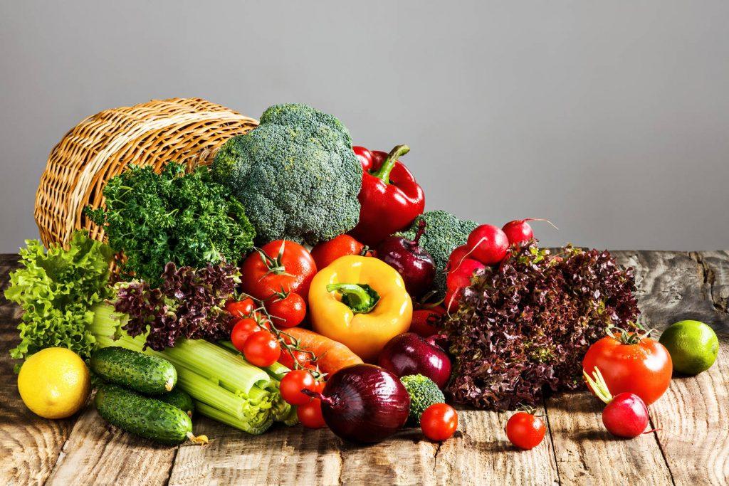 Verdura e frutta fresca di stagione - Dieta Plant Based