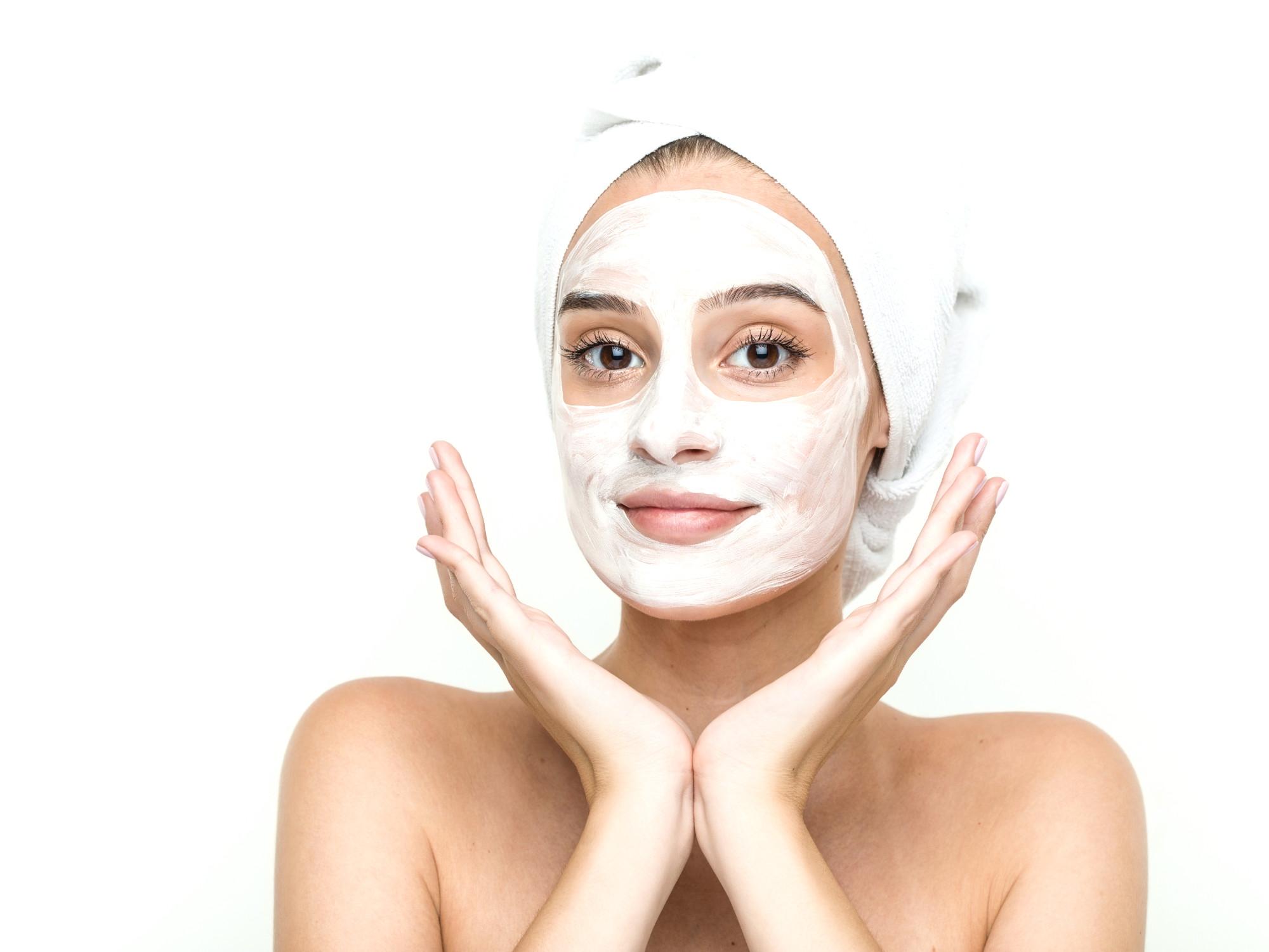 Maschera per il viso Con olio di cocco