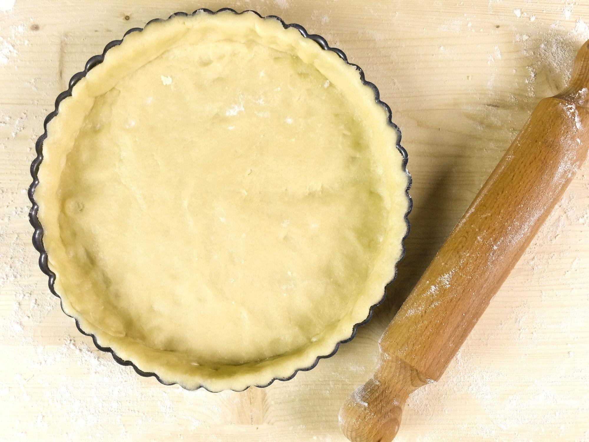 pasta frolla con olio di cocco