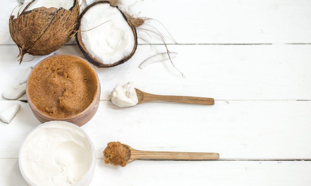 Candela per massaggi con Olio di Cocco: ingredienti