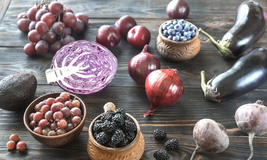 Dieta dei colori: Blu/Viola