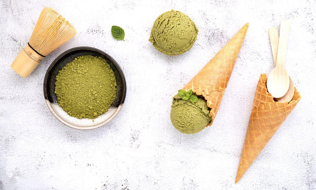 Il Gelato al Tè verde Matcha
