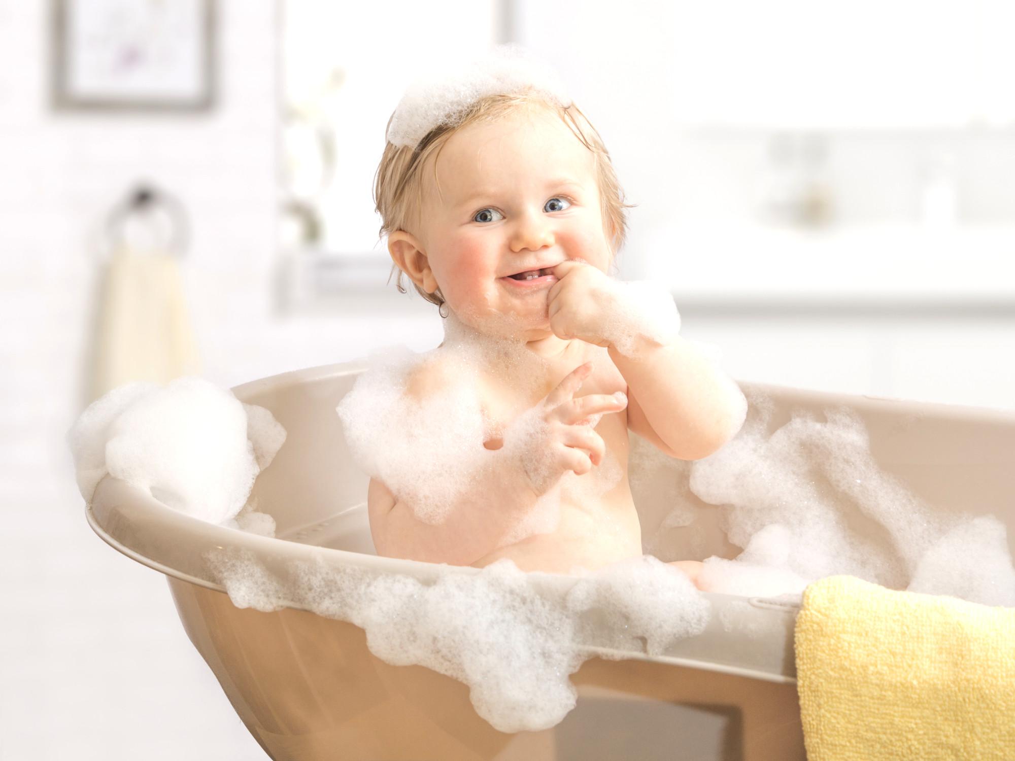 olio di cocco per i neonati