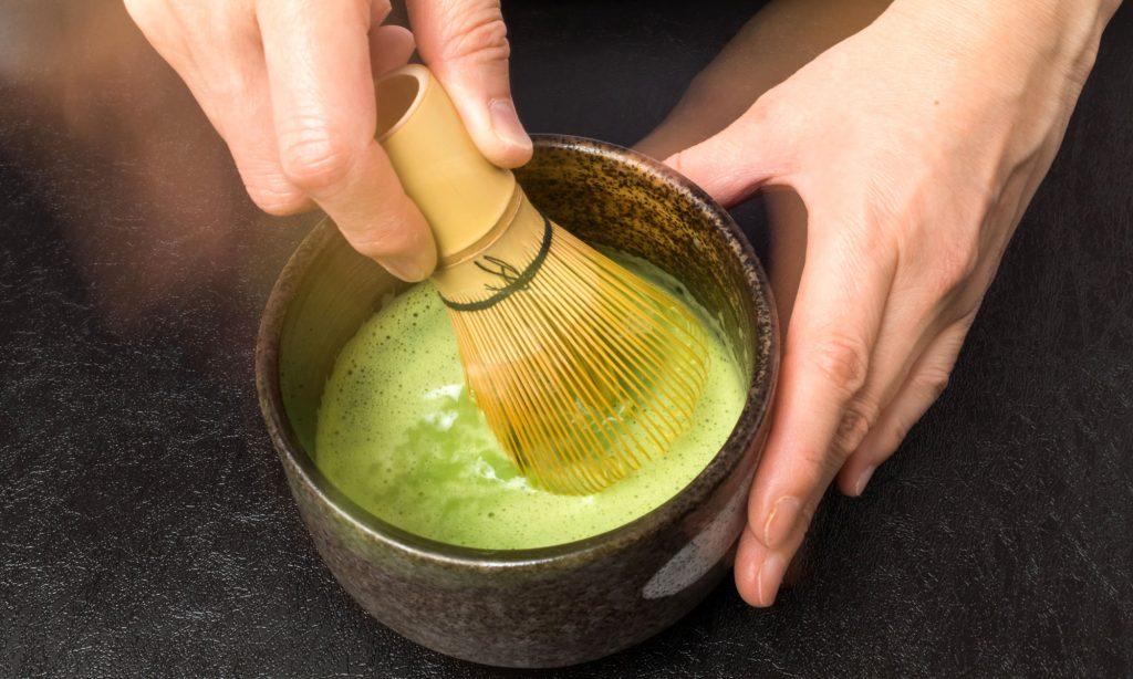 Il cerimoniale del tè Matcha