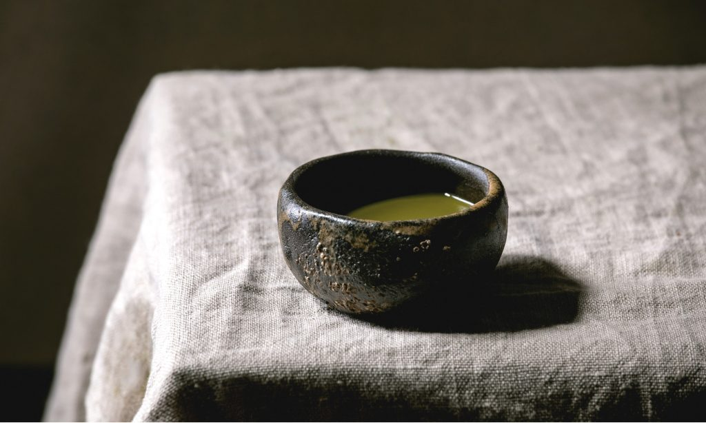 Preparazione del tè Matcha