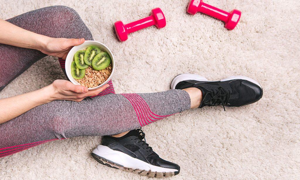 Allenamento con i pesi e alimentazione