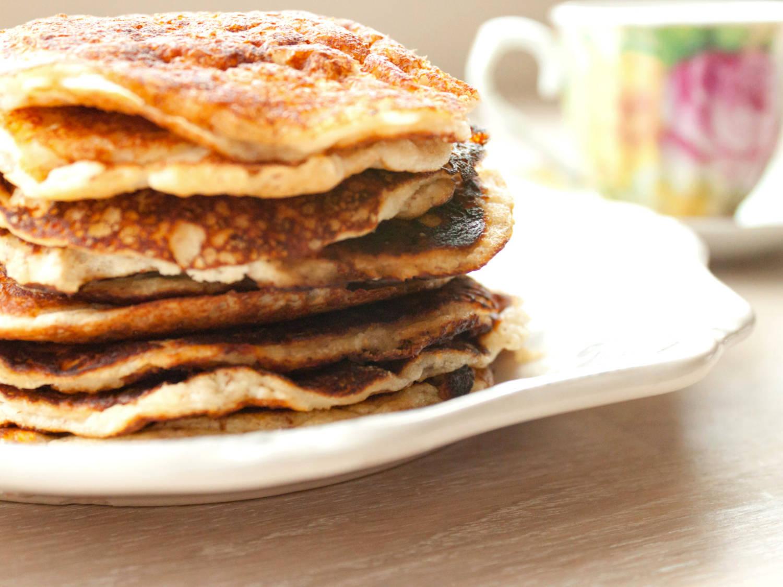 Pancakes con olio di cocco
